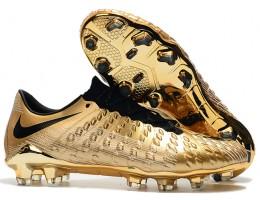 Бутсы (копы) Nike Hypervenom Phantom III DF FG gold