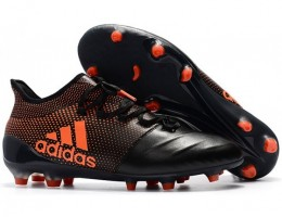 Бутсы (копы) Adidas X 17.1 Leather FG Black