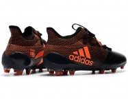 Бутсы (копы) Adidas X 17.1 Leather FG Black