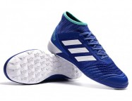 Футзалки Adidas Predator Tango 18.2 White Blue Black IC