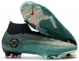 Бутсы (копы) Nike Mercurial Superfly VI Elite Ronaldo FG JadeBlack