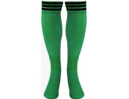 Футбольные гетры ВА зелено-чёрные