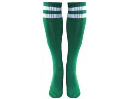Гетры CO-3256 зелено-белые