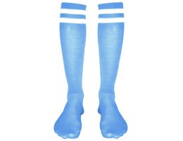 Гетры CO-3257 голубо-белые