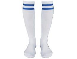 Гетры CO-3257 бело-синие