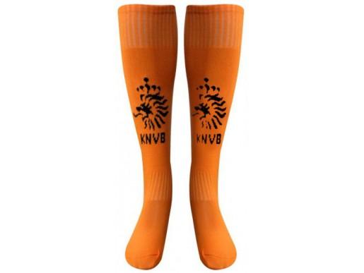 Гетры клубные HOLLAND оранжево-черные детские