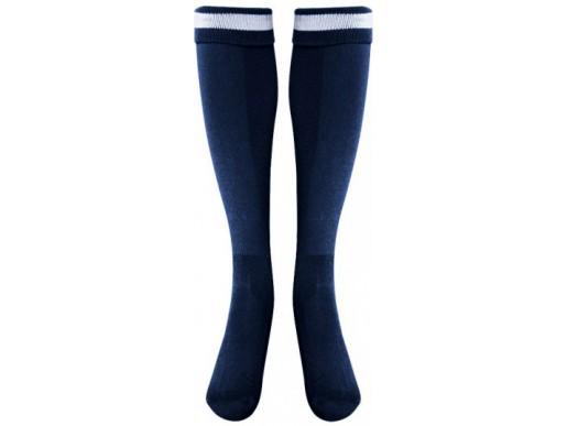 Футбольные гетры LIKE темно сине-белые