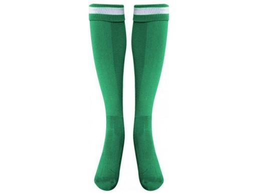 Футбольные гетры LIKE зелёно-белые