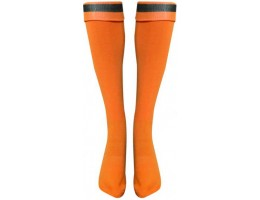 Футбольные гетры LIKE оранжево-черные