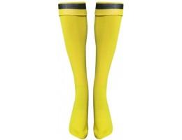 Футбольные гетры LIKE жёлто-черные