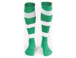 Футбольные гетры Liga Sport FS-71 детские зелено-белые
